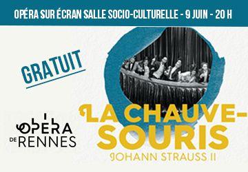 """Opéra  """"LA CHAUVE-SOURIS"""""""